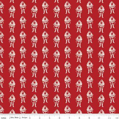 Yuletide- Santas- Red