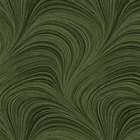 "108"" Backing - Wide Wave Texture- Dark Green"