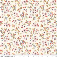 Charmed- Floral- Cream