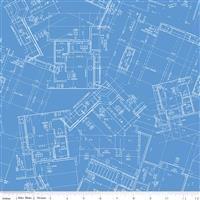 Conservatory- Blueprint- Blue