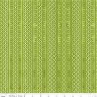 Conservatory- Stripes- Green