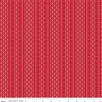 Conservatory- Stripes- Red