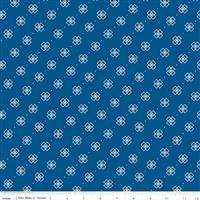 Conservatory- Box Flowers- Dark Blue