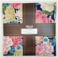 "Imperial Collection-Spring/Metallic 10"" Squares"
