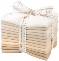 Kona Cotton- Not Quite White FQ Bundle