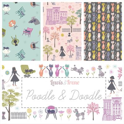 Poodle & Doodle Fabulous Forties Roll