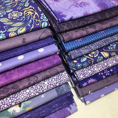 Grab Bag of Fat Quarters- Purple