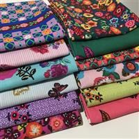 Sunday in the Country- Fat Quarter Bundle- 12 pieces