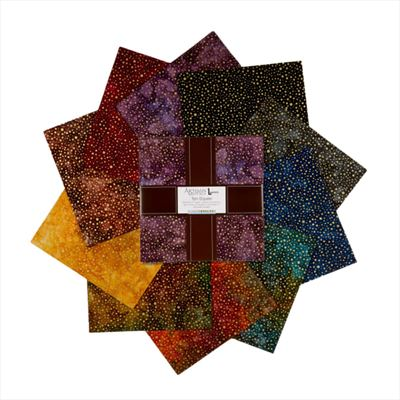 "Artisan Batiks- Sparkle 10"" Squares"