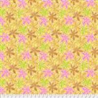 3/4 Yard: Lacy Leaf - Yellow