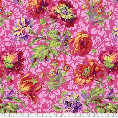 Baroque Floral- Red