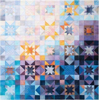 Dawn Star Quilt Kit by Jennifer Sampou
