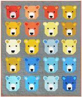 Bjorn Bear Quilt Kit by Elizabeth Hartman