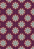 Soraya- Heart Floral- Dark Pink