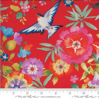 Lulu- Flight of Fancy- Geranium