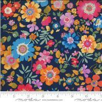 Lulu- Flower Garden- Navy