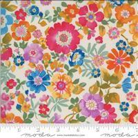Lulu- Flower Garden- Linen