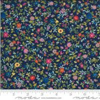 Lulu- Packed Floral- Navy
