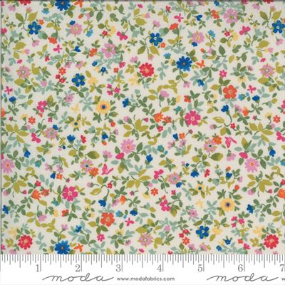 Lulu- Packed Floral- Linen