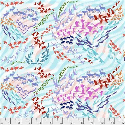 Migration- Migratory Map- Aqua