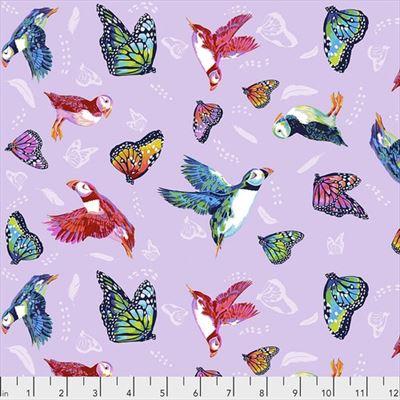 Migration- Friends in Flight- Lavender