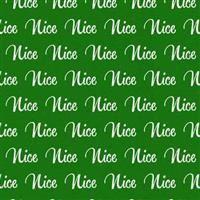 Under the Mistletoe- Nice- Green