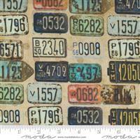 Lipstick Cowgirl- License Plates- Rust