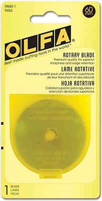 OLFA 60mm Rotary Blade- 1 Pack