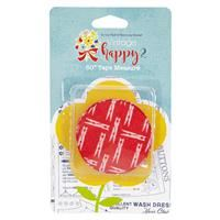 Lori Holt Tape Measure- Vintage Happy 2 Cayenne Clothespins