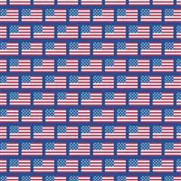 Patriotic Picnic- Flags Blue
