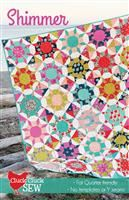 Cluck Cluck Sew- Shimmer Quilt Pattern