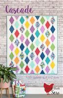 Cluck Cluck Sew- Cascade Quilt Pattern