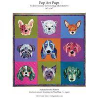 Pop Art Pups Collage Quilt Pattern
