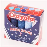 Crayola Kaleidoscope Fat Quarter Box- Patriotic- 10 piece
