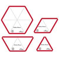Jillily Studio Perfect Pieces Hex Angle Template Set