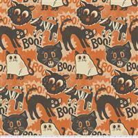 Spooktacular- Scaredy Cat- Orange