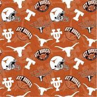 NCAA/Cotton- Texas Longhorns Tone on Tone