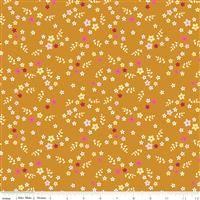 Stardust- Floral- Butterscotch