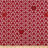 Snow House- Hearts- Red