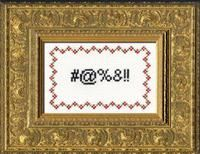 Curses- Deluxe Cross Stitch Kit