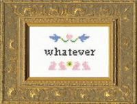 Whatever- Deluxe Cross Stitch Kit