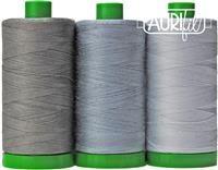 Aurifil Color Builder 40wt- Sumatran Elephant Gray