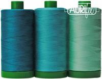 Aurifil Color Builder 40wt- Blue-throated Macaw Teal