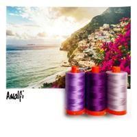 Aurifil Color Builder- Amalfi Purple