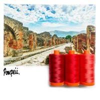 Aurifil Color Builder- Pompeii Red