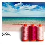 Aurifil Color Builder- Sardinia Pink