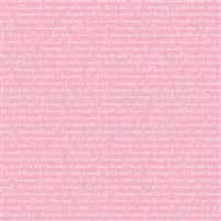 Winifred Rose- Text Pink