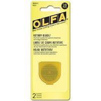 OLFA 28mm Rotary Blades- 2 Pack